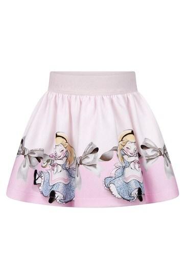 Baby Girls Pink Alice & Rabbit Milano Skirt