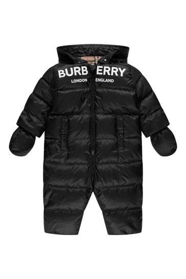 Baby Black Snowsuit