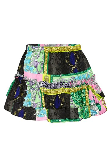 Baby Girls Multi Cotton Skirt
