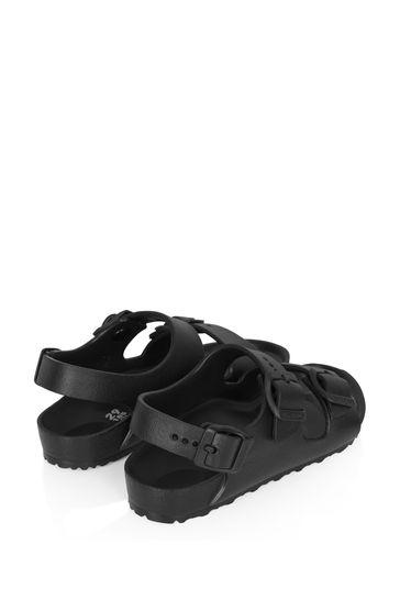 Boys Black Milano Sandals