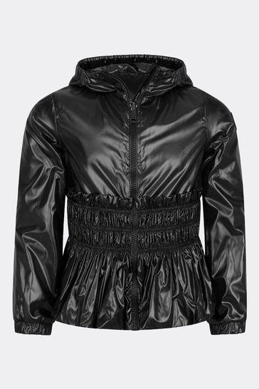 걸스 블랙 포카스 재킷