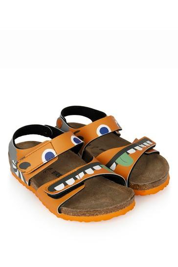 Boys Orange Palu Sandals