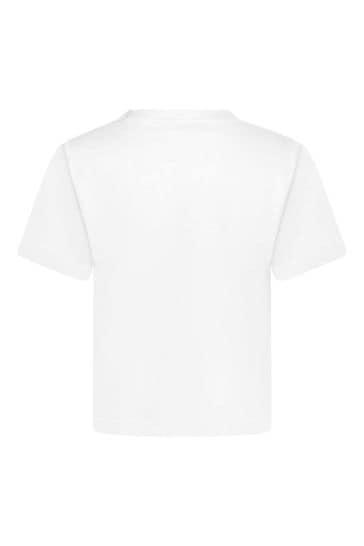 Baby Girls Cotton Logo T-Shirt