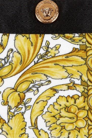Versace Girls Gold Cotton Dress