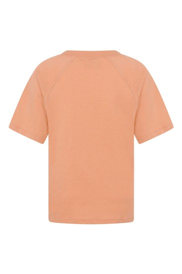Boys Orange Cotton Guccheese T-Shirt