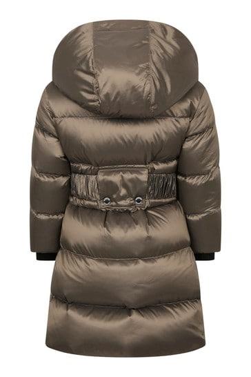 Girls Grey Padded Coat