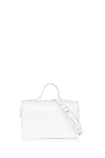 Girls White Shoulder Bag