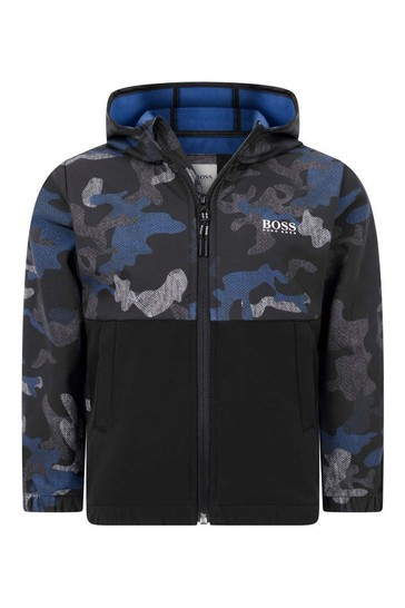 Boys Camouflage Windbreaker Jacket