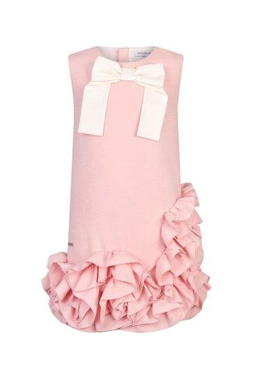 Girls Pink Avantgarde Dress