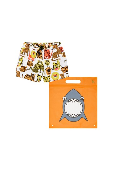 Baby Boys Multicoloured Swim Shorts