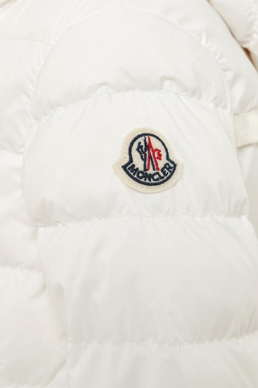 Girls White Costas Jacket