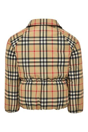 걸스 베이지 재킷