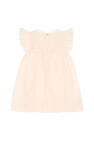 Chloe Girls Pink Cotton Dress