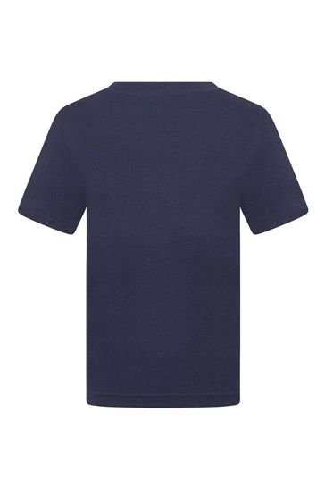 Boys Navy Organic Cotton Top