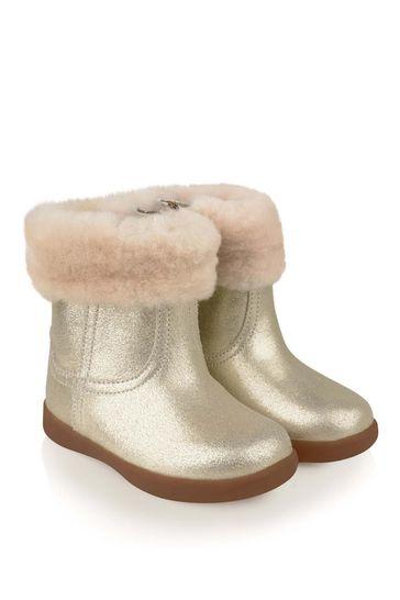 Metallic Gold Jorie II Boots