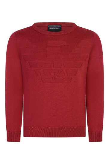 Boys Cotton And Wool Jumper