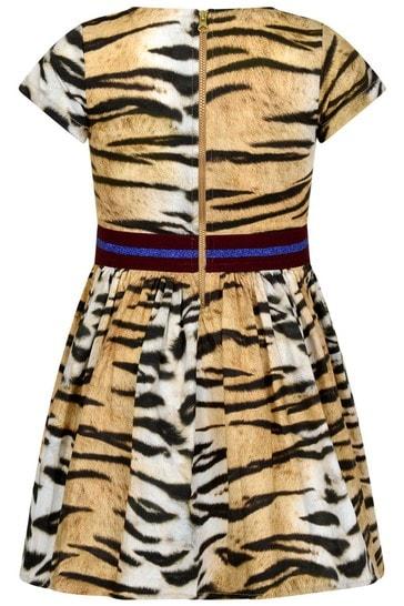 Tiger Stripe Organic Cotton Dress