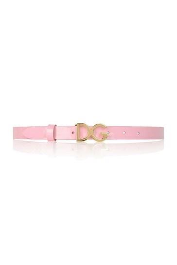 Girls Patent Belt