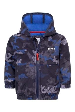 Baby Boys Camouflage Windbreaker Jacket