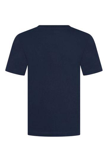 Levi's® Boys Cotton Logo Print Top