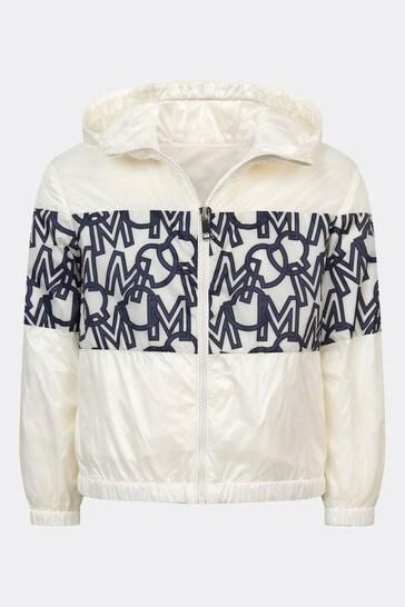 걸스 화이트 빌나 재킷