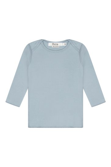 Baby Unisex Blue Cotton Outfit