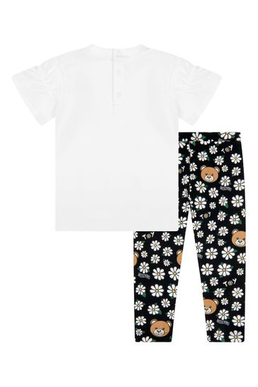 Baby Girls Black Cotton Outfit