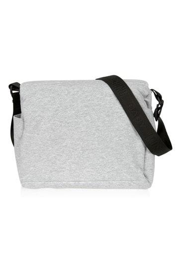 Kids Grey Cotton Changing Bag