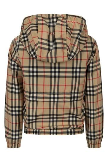 Boys Beige Jacket