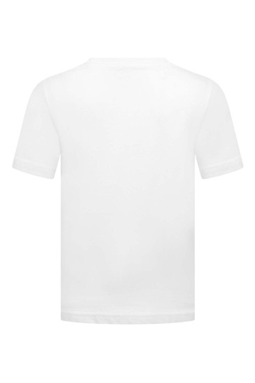 Boys Embroidered Logo Top