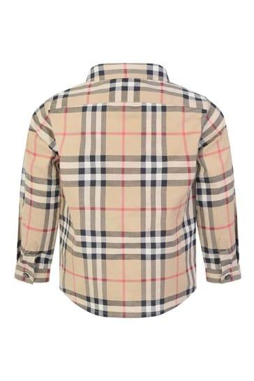 Baby Boys Vintage Check Fredrick Pocket Shirt