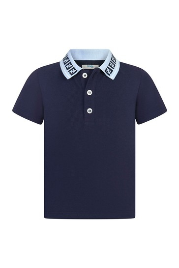 Cotton Polo Top