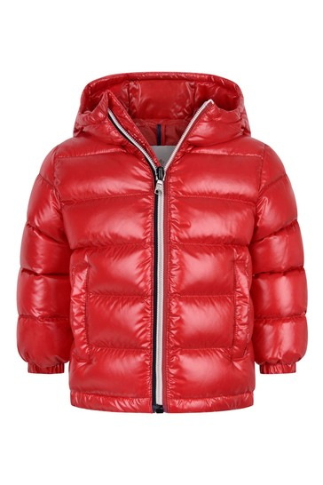 Red Down Padded New Aubert Jacket