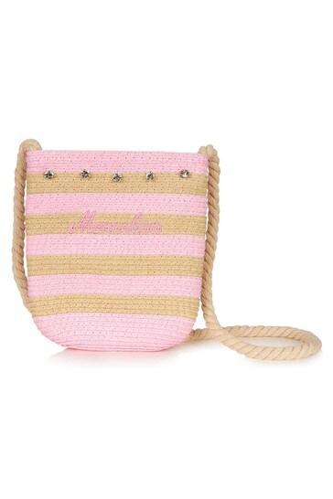 Girls Pink Beach Bag