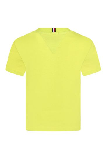 Boys Lime Cotton T-Shirt