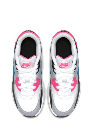 Buy Nike WhitePink Air Max 90 Junior Trainers from Next