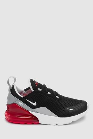 new styles 05c0e 15e76 Buy Nike Black/Grey Air Max 270 Junior from Next Ireland