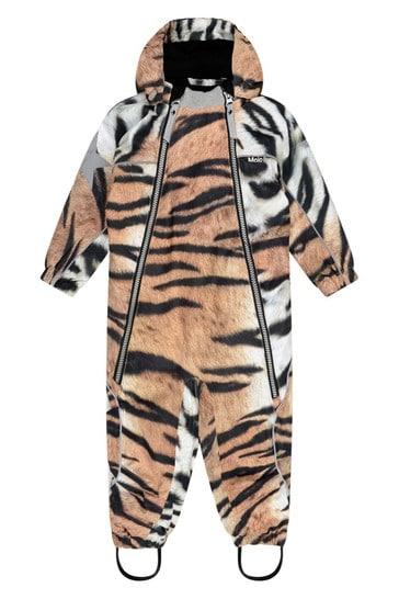 Baby Tiger Print Snowsuit