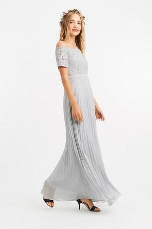 Buy Oasis Grey Lace Bardot Maxi Dress From Next Slovakia