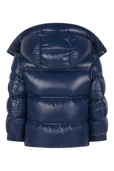Boys Blue Down Padded Ecrins Jacket