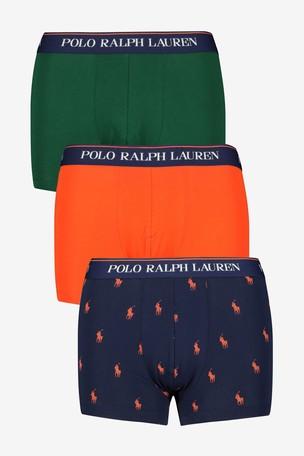 neues Erscheinungsbild innovatives Design lässige Schuhe Buy Polo Ralph Lauren Pony And Plain Trunks Three Pack from ...