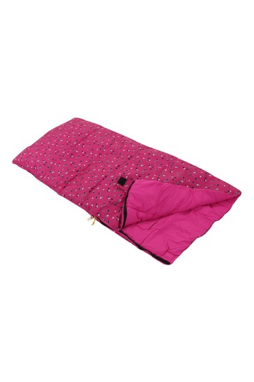 Regatta Pink Maui Kids Sleeping Bag