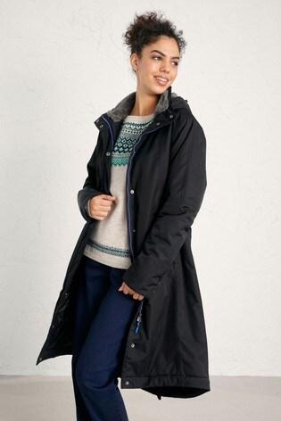 Seasalt Cornwall Black Janelle Jacket