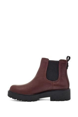 UGG® Burgundy Chelsea Boots