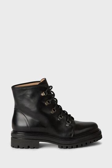 Hobbs Black Jamie Hiker Boots