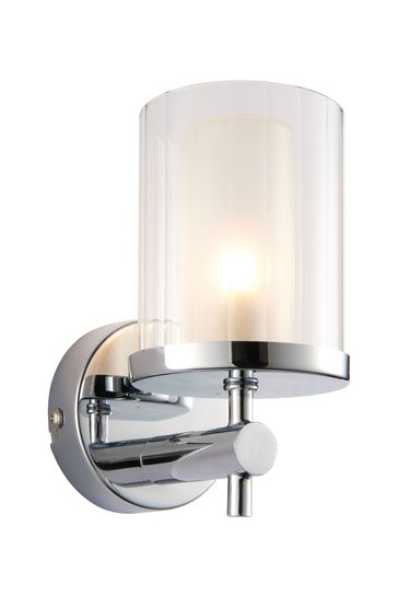 Gallery Direct Silver Lola Wall Light