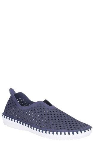 Divaz Blue Onyx Slip-On Summer Shoes