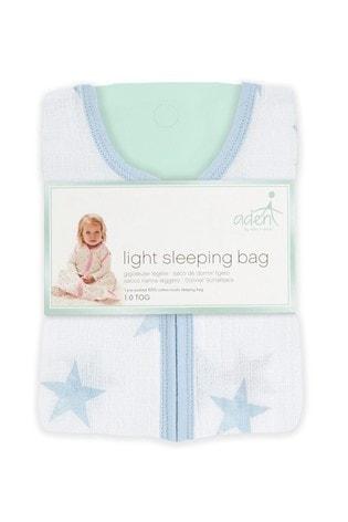 aden + anais Essentials Blue 1.0 Tog Summer Sleeping Bag