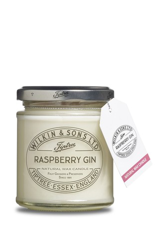 Raspberry Gin Jam Jar Candle by Tiptree