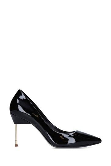 Kurt Geiger Ladies Britton 90 Black Patent Heels